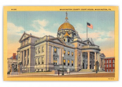 Washington, Pennsylvania, Court House