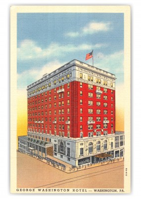 Washington, Pennsylvania, George Washington Hotel