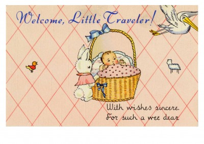 Curt Teich Postcard Archives Collection Welcome, little traveler