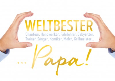 GREETING ARTS Weltbester Papa