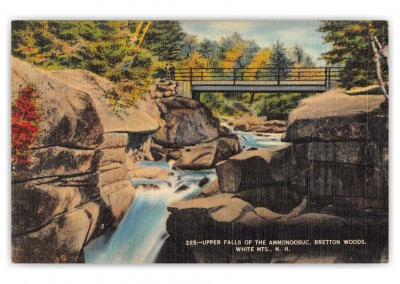 White Mountains, New Hampshire, Upper falls of the Ammonossuc
