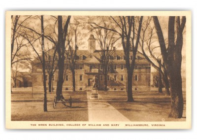 Williamsburg, Virginia, The Wren Building, COllege of WIlliam and Mary