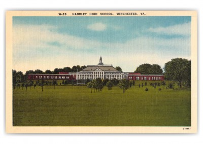 Winchester, Virginia, Handley High School