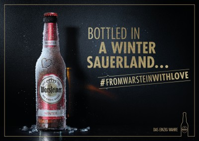 Bottled in a Winter Sauerland