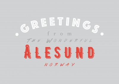 Greetings from the wonderful Alesund