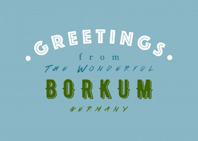 Greetings from the wonderful Borkum