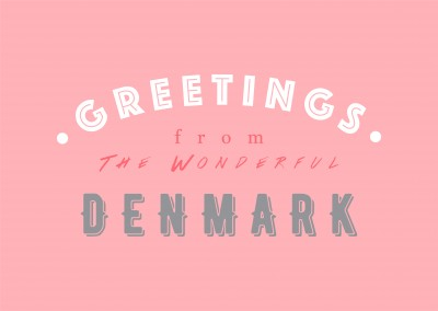 Greetings from the wonderful Denmark