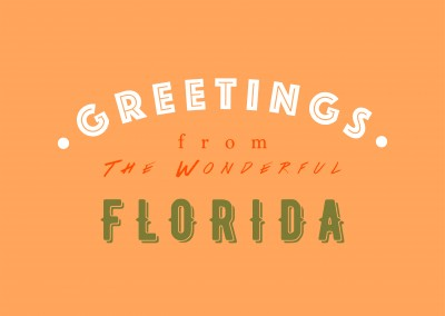 Greetings from the Wonderful Florida