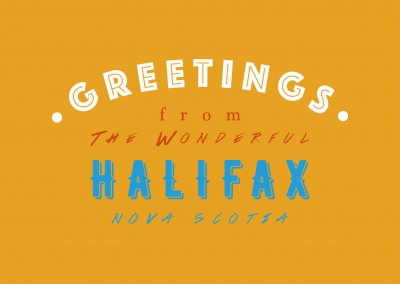 Greetings from the wonderful Halifax