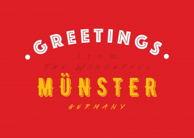 Greetings from the wonderful Münster