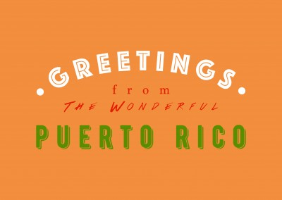 Greetings from the wonderful Puerto Rico