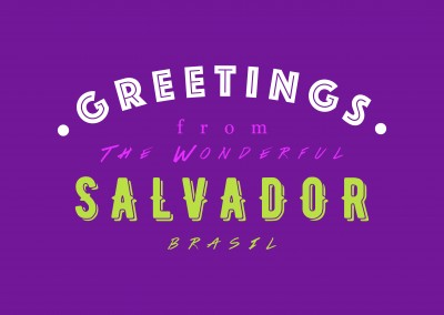 Greetings from the wonderful Salvador
