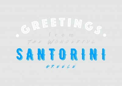 Greetings from the wonderful Santorini