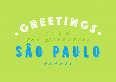 Greetings from the wonderful Sao Paulo