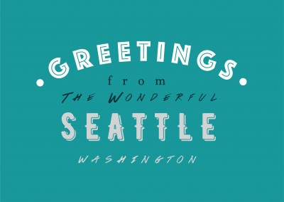 Greetings from the wonderful Seattle