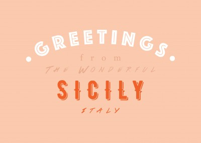 Greetings from the wonderful Sicily