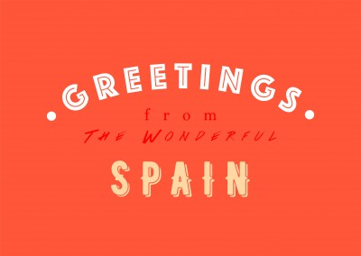 Greetings from the Wonderful Spain