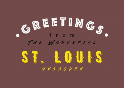 Greetings from the wonderful St. Louis