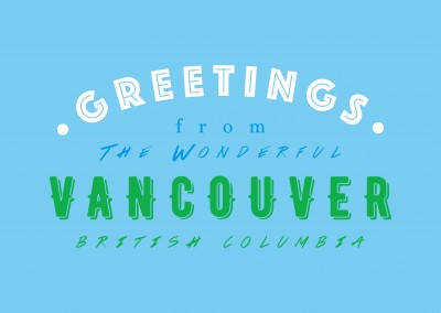 Greetings from the wonderful Vancouver