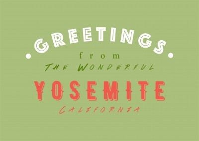 Greetings from the wonderful Yosemite