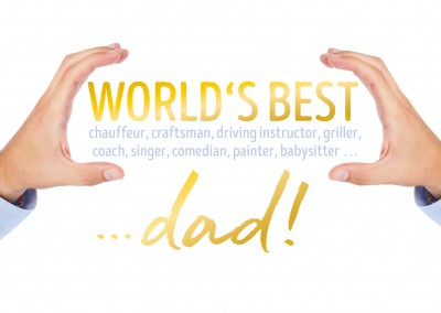 GREETING ARTS World's best dad