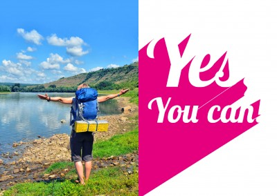 yes-you-can-(pink)-erfolg-motivation-grusskarte-online-versenden