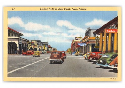 Yuma, Arizona, Looking north on Main Street