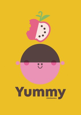 Del Hambre Illustration yummy 3