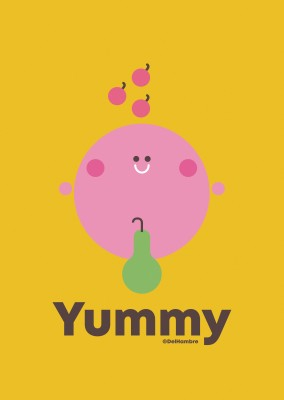 Del Hambre Illustration yummy 5
