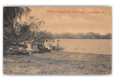 Zephyrhills, Florida, Children's Playground, lake Zephyr